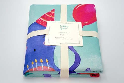Cake by the Ocean Cover Set (%100 Cotton)