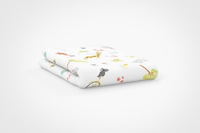 boho-team-fun-kid-fitted-sheet