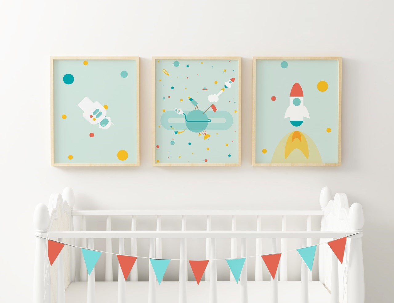Picture of To the Moon and Back Triplet Frame Set
