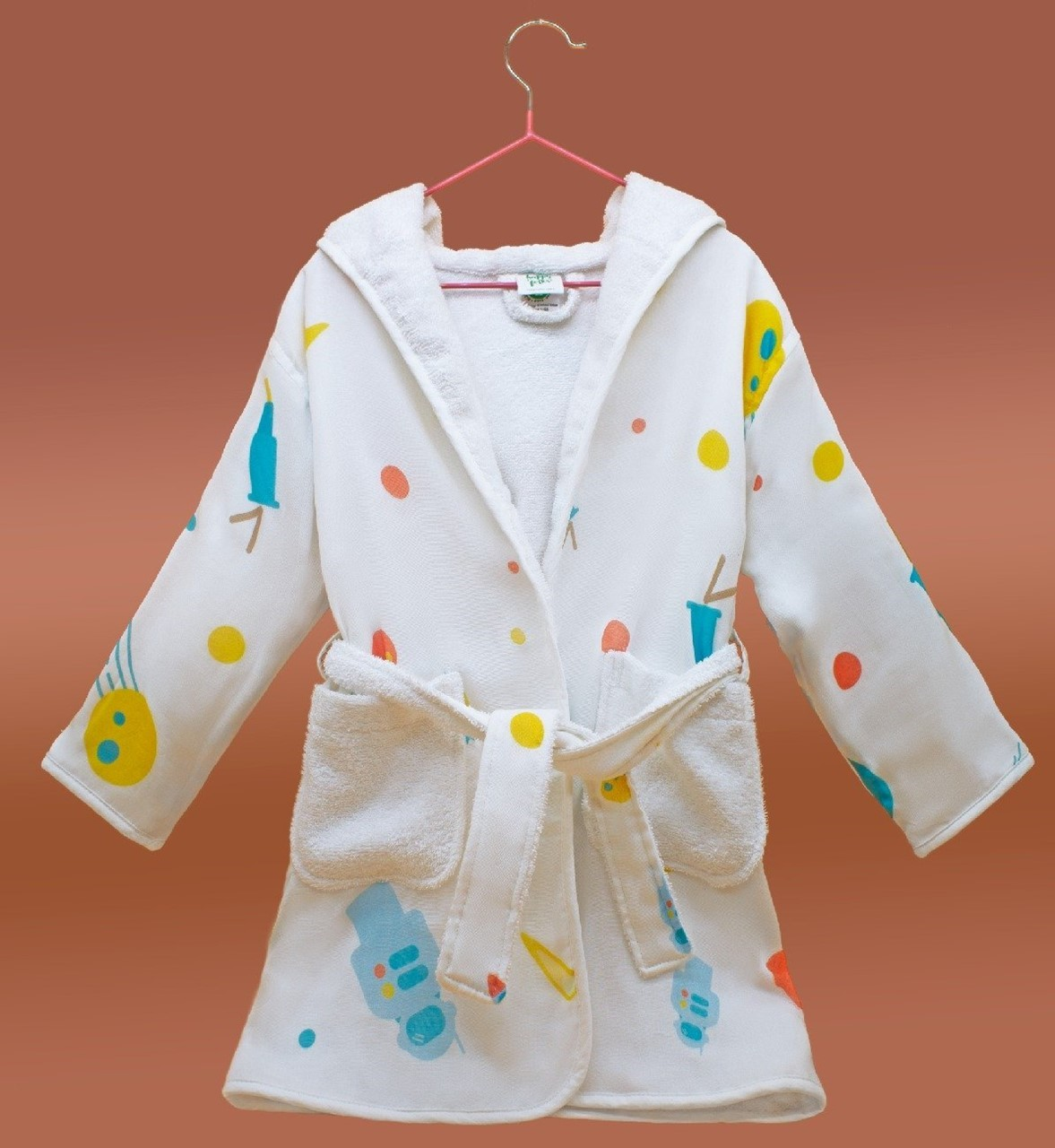 Picture of Lost in Space Bathrobe (2-3 Years) (Organic)