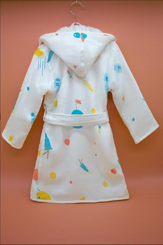Lost in Space Bathrobe (2-3 Years) (Organic)