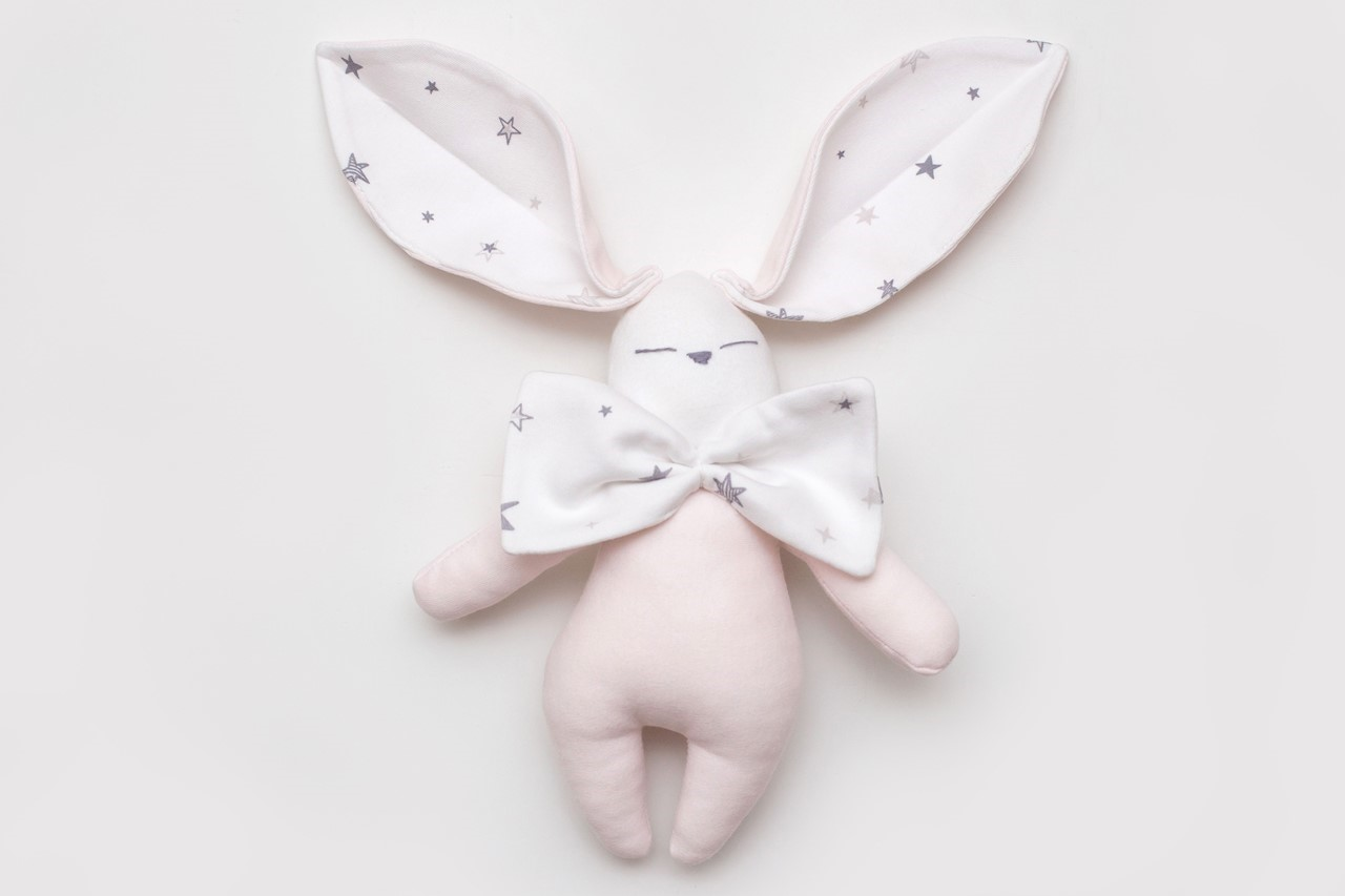 Picture of NAJIMA DESIGN ROSA BUNNY %100 ORGANIC SLEEPING TOY