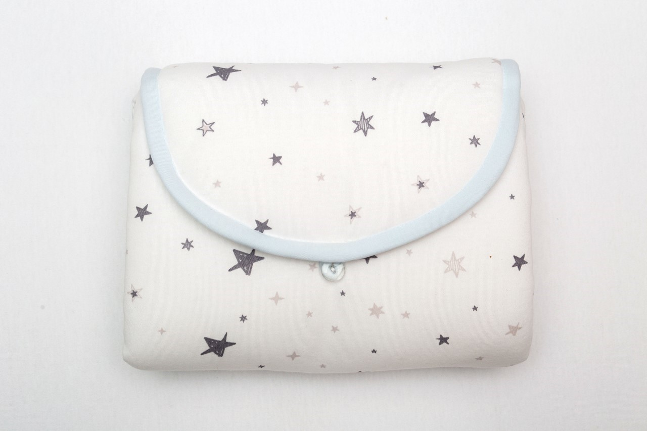 Picture of NAJIMA DESIGN AZUR COLOR %100 ORGANIC DIAPER CHANGE BAG